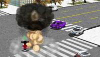 لعبة سحق السيارات 3D