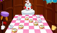 Checkers Alice In Wonderland