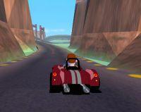 لعبة سباق سيارات مجسمة