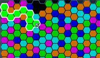 Samegame Hexagonized